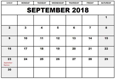 printable calendar 2018 europe free september 2018 calendar printable template us canada