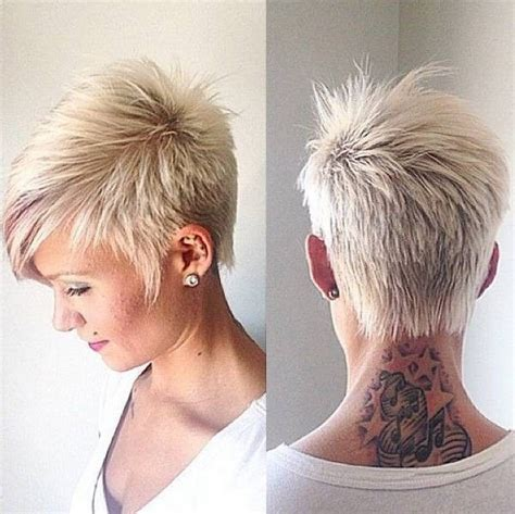 short styles for thick grey hair funky highlights short grey hair short funky hairstyles
