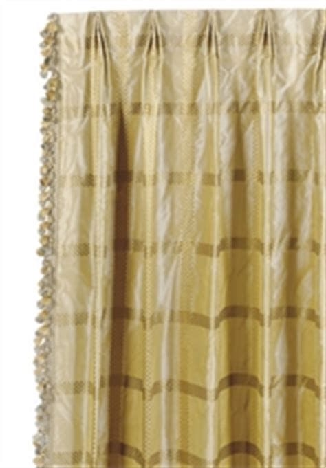 gold plaid curtains two pairs of silk beige and gold plaid pattern curtains