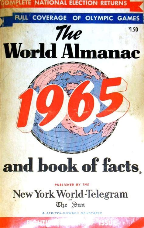 the world almanac and book of facts 2018 books the world almanac and book of facts 1965 1950 1979