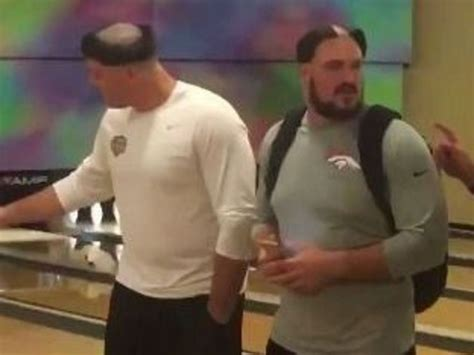 denver broncos haircuts total pro sports denver broncos hazing the rookies with