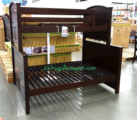 costco bunk bed costco bayside furnishings twin over full bunkbed 599 99
