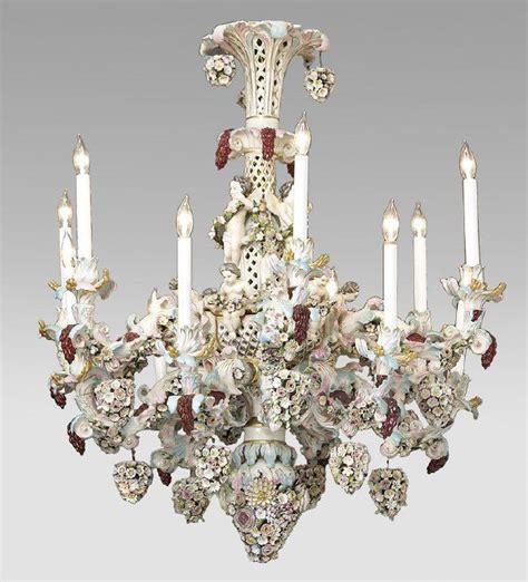 Porcelain Chandelier by German Porcelain Chandelier Chandeliers