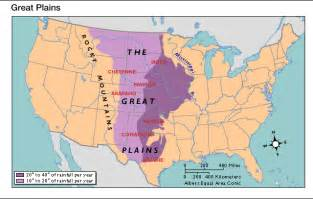great plains on a us map the great plains map american nook