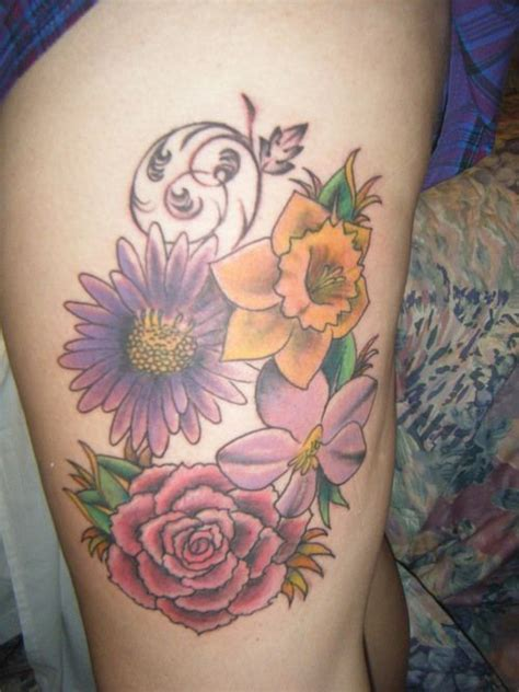 aster flower tattoo 158 best images about tats on small