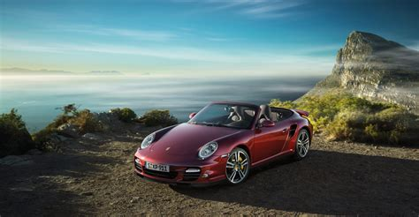 turbo porsche red 2011 red porsche 911 turbo cabriolet wallpapers