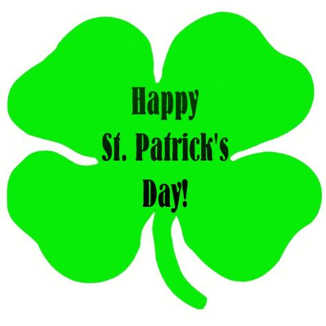 happy birthday on st s day clip happy st patricks day clipart clipartmonk free clip images