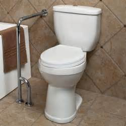 grab bars for toilet in bathrooms pickens wall to floor grab bar bathroom