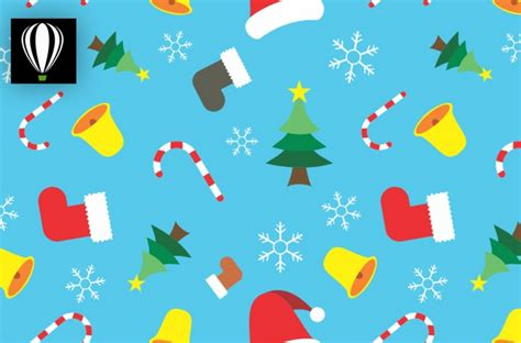 Christmas Pattern Coreldraw | create christmas pattern in corel draw vectorgraphit