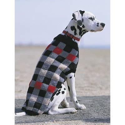 True Free Background Check Patons Canine Checks Jacket Free Knitting Pattern Knitting Bee