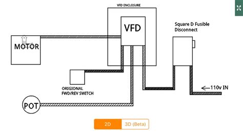 vfd wiring diagram circuit diagram maker