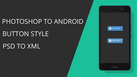 android button style photoshop android studio button style design and code