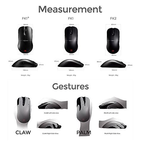 Zowie Fk1 Gaming Mouse By Benq 1 benq zowie fk1 e sports ambidextrous optical gaming mouse