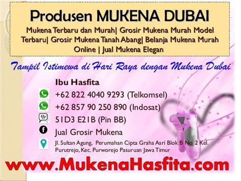 Mukena Millenium 1 62 822 4040 9293 telkomsel mukena spandek mukena