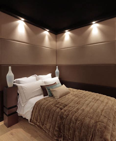 decorating bedroom walls with fabric soft wall tiles and decorative wall paneling functional