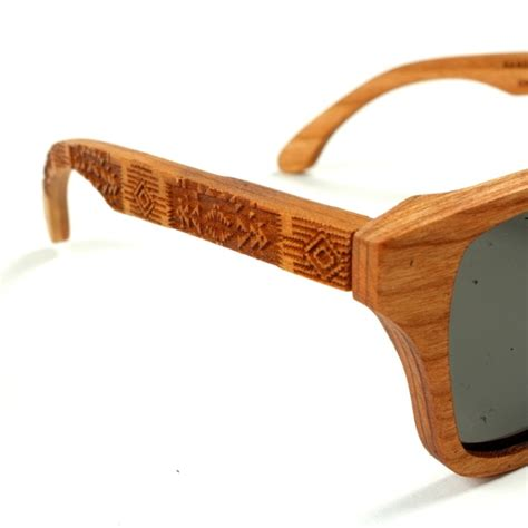 wood frame sunglasses