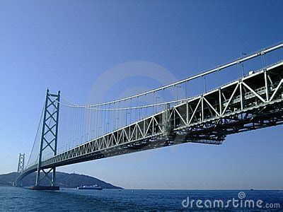 bridge bid big bridge cross sea royalty free stock images image