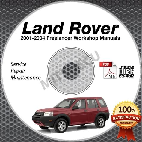 free online auto service manuals 2001 land rover range rover user handbook 2001 2004 land rover freelander service repair manual cd
