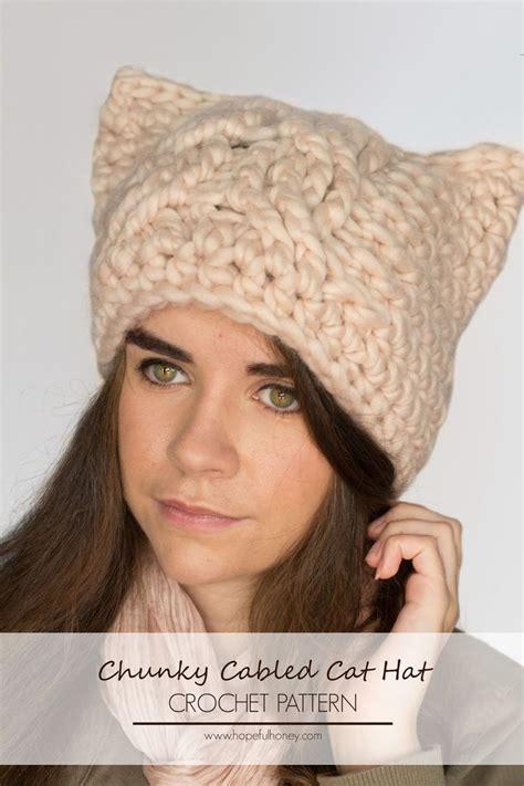cat hat crochet pattern 442 best images about free crochet women s hat patterns