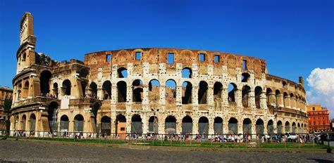 Itália – Roma - O Coliseu - A grandeza deste monumento tes