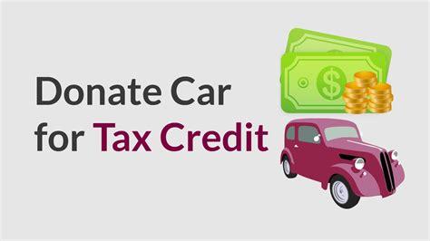 charity motors car donation donate car  tax credit