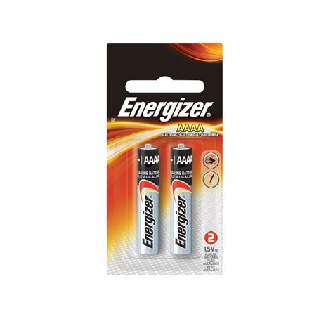 Baterai Energizer shop energizer 2 pack aaaa alkaline battery at lowes