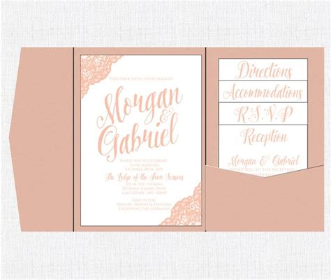 printable pocket wedding invitation kits 32 best images about wedding invites on pinterest purple