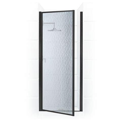 Hinge Shower Door Coastal Shower Doors Paragon Series 24 In X 69 In Framed Continuous Hinged Shower Door In