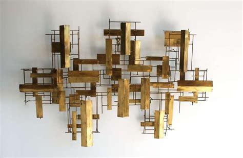 wall sculptures metal modern abstract metal wall sculpture at 1stdibs