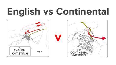 continental knitting purl knitting wars vs continental loveknitting