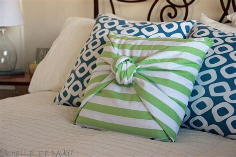no sew cushion covers our unda no sew pillow cover