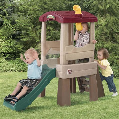 step2 naturally playful climber and swing naturally playful 174 lookout treehouse kids climber step2