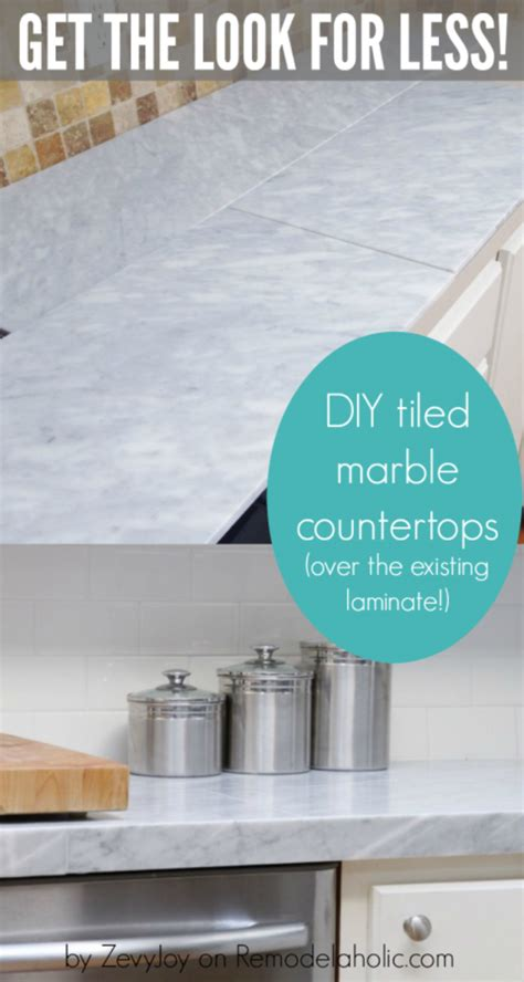 Diy Laminate Countertop Makeover by 37 Brilliant Diy Kitchen Makeover Ideas Page 5 Of 8