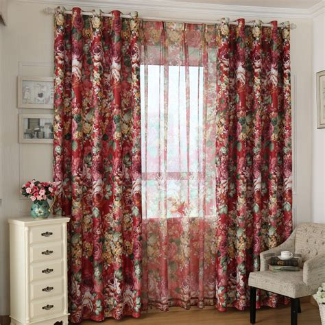rustic living room curtains aliexpress buy finished products bedroom curtain