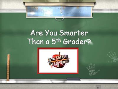 Are You Smarter Than A 5th Grader Powerpoint Template The Computer Lab Teacher Are You Smarter Than A 5th Grader Powerpoint Game