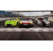 Journalists Test A Trio Of Racing Cars
