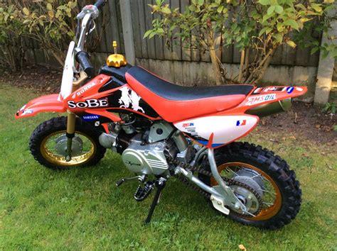 50cc Honda Dirt Bike by Childs 50cc Honda C50 Crf Motorbike Motocross Pitbike