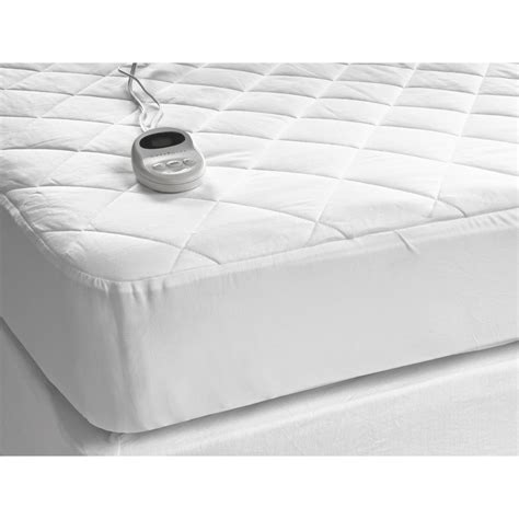 west point home sleepwarmer 174 heated mattress pad quilted