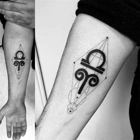 aries tattoos for men 75 aries tattoos for zodiac ink design ideas