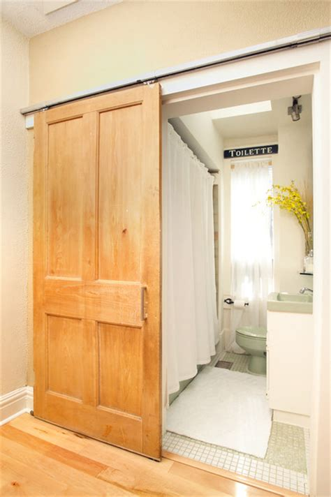 barn door ideas for bathroom barn doors traditional bathroom toronto by arnal
