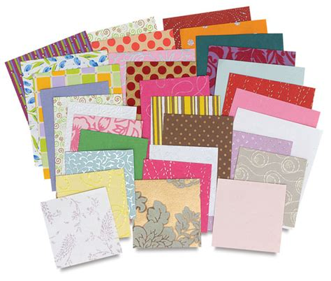 decorative paper assortments blick materials