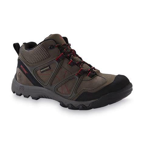mens low cut hiking boots sears wolvereine s terrain hiker waterproof