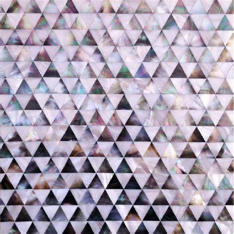 mosaic pattern shapes seamless shell tile backsplash pyramid patterns triangle