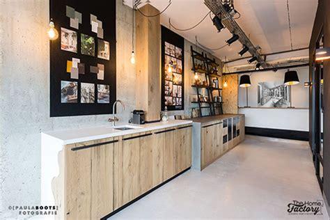 keuken hout en beton staal en hout een keuken om van te houden thehomefactory