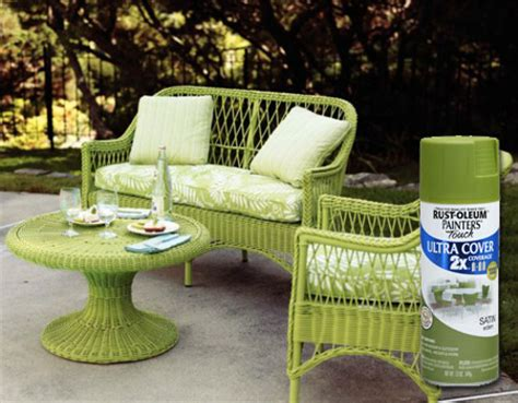 Home Dzine How To Restore And Rev Wicker Furniture Restore Wicker Patio Furniture