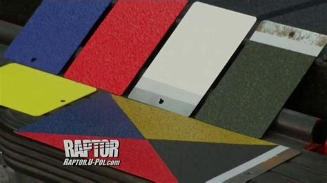 u pol raptor bed liner u pol raptor tv commercial tough and protective ispot tv
