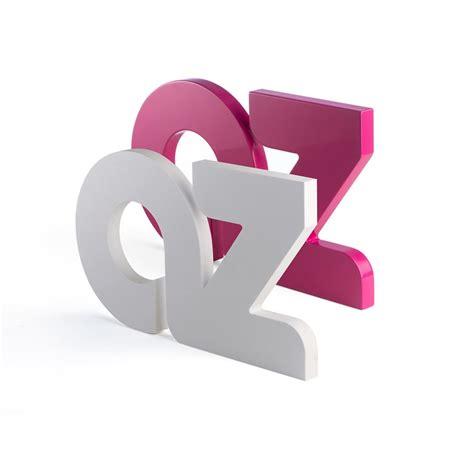 lettere per scritte lettere in forex intagliate e verniciate spessore 20 mm
