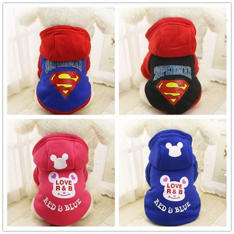 yorkie superman costume yorkies clothes promotion shop for promotional yorkies clothes on aliexpress