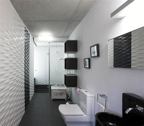 Modern Black And White Bathroom Ultra Modern Black White Bathroom Interior Design Decobizz