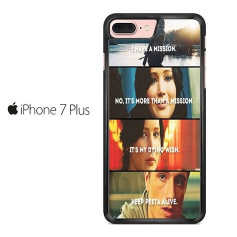 Hunger Quote F0744 Casing Iphone 7 Custom Cover 2 the hunger quotes mockingjay iphone 7 plus comerch